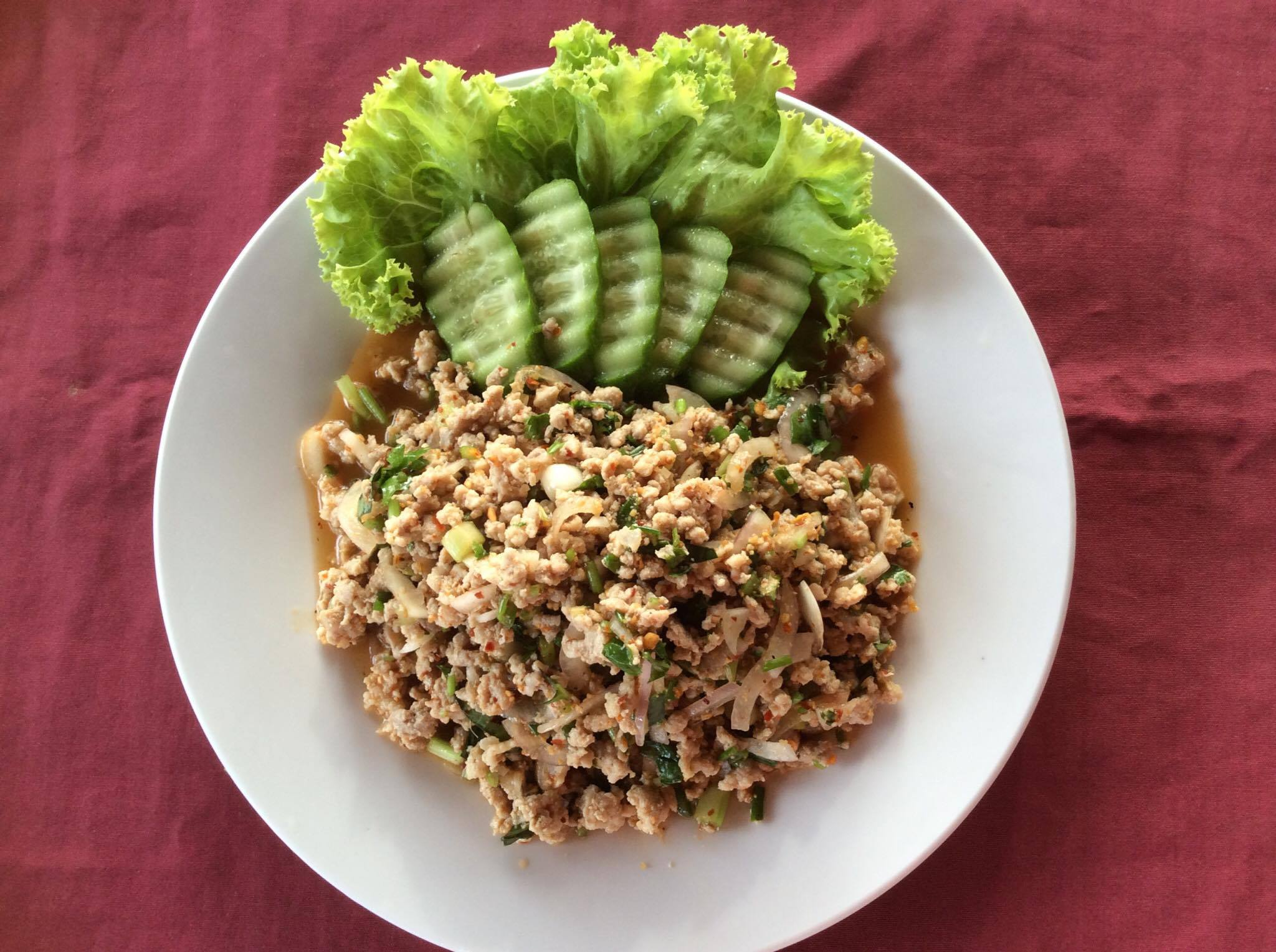 Spicy Pork Salad (Larb Moo)
