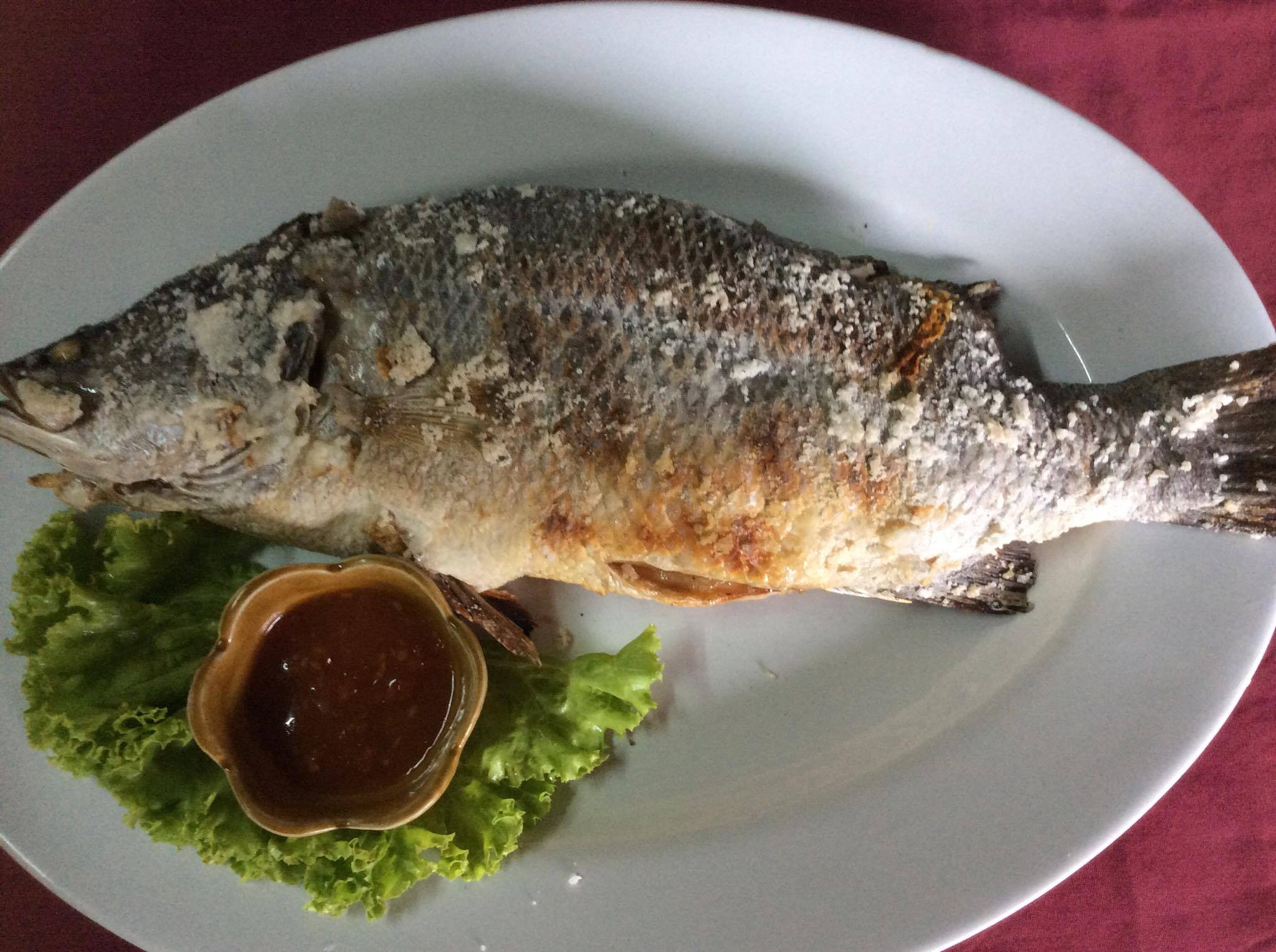 Barbecued Sea Perch