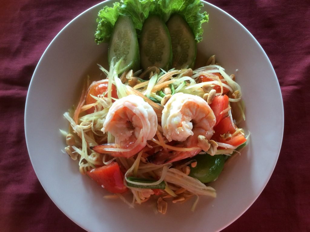 Som Tam Spicy Salad
